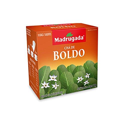 Liver Cleanse Boldo Tea from Chile - Gluten & Caffeine Free - 40 Tea Bags