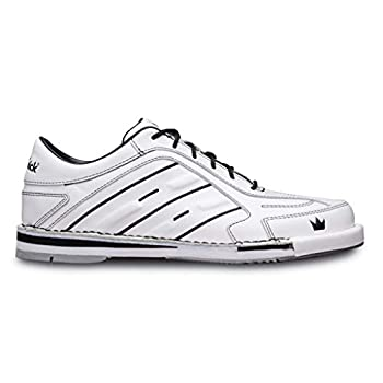 Brunswick Bowling Products Team Mens Bowling Shoes- White 8.5 M US White 8.5