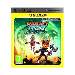 SONY COMPUTER ENTERTAINMENT RATCH & CLANK CRACK IN PLATINU