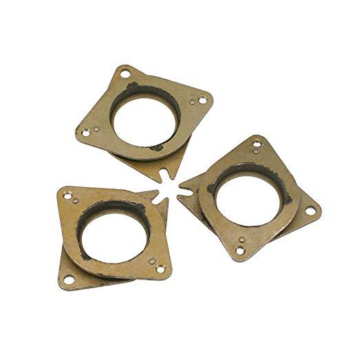 TUZUK NEMA 17 Lot de 3 amortisseurs de vibrations en acier et caoutchouc avec vis M3 pour imprimante 3D Creality, CR-10 et 10S et CNC