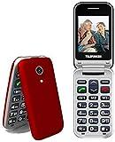 TELEFUNKEN - Teléfono Móvil Telefunken TM 210 Izy Rojo Libre - Teléfono Libre - Comprar Al Mejor...