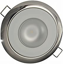 Lumitec LED Exterior or Interior Down Light, Flush Mount, High Output, Slim Profile