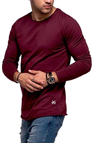 JACK & JONES Herren Langarmshirt Infinity Longshirt O-Neck T-Shirt (M, Port Royale)