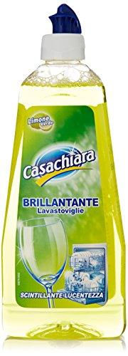 Casachiara - Brillantante Lavastoviglie, Limone Verde, Scintillante Lucentezza - 500 Ml