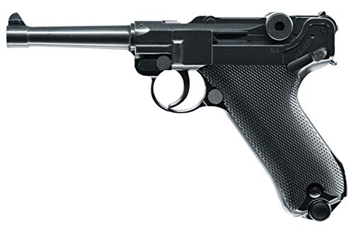 Umarex Legends P.08 All Metal .177 Caliber BB Gun Air Pistol, Blowback Action, Legends P.08 Air Gun