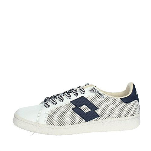 LOTTO SNEAKERS AUTOGRAPH NET BIANCO-BLU T4556