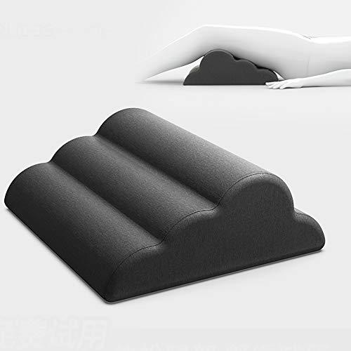 FJPAIPP Orthopädisches Bett-Keilkissen Wedge Leg Stellungs Kissen garantiert Hilfe Rückenschmerzen sofort reduzieren, medizinische Qualität Memory-Foam-Bett-Wedge Bein Kissen für Rückenschmerzen