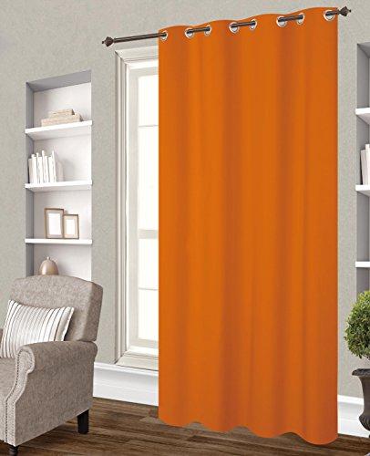 Tenda oscurante, 140 x 260 cm, colore: Arancione