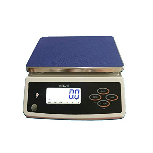 Find Discount ZYY Electronic Scale,LCD Display Called High-Precision Counting 30kg/1g Table Weighi...