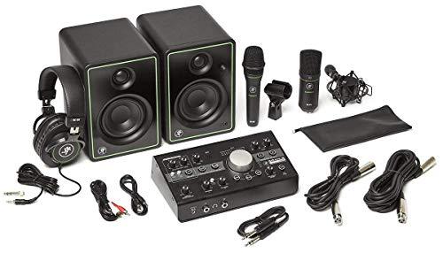 MAO Mackie Studio Bundle BigKnobStudio, 2 Mikrofone, Lautsprecher