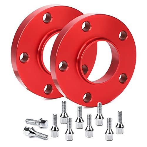 CarBole Separadores de rueda con tornillos, espaciadores de...