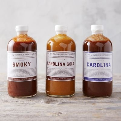 Lillie's Q BBQ Sauce Variety (3 Pack)