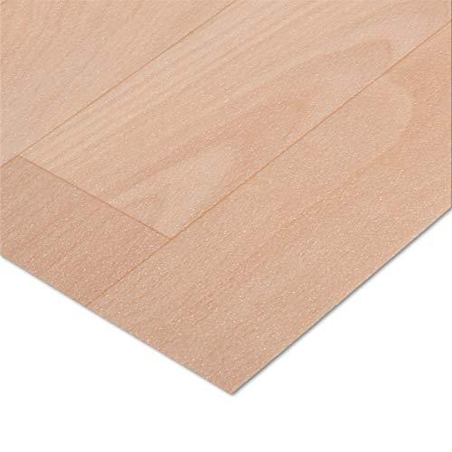 casa pura® CV Bodenbelag Beech Plank | Buche hell | edle Holzoptik | Oberfläche strukturiert | Meterware (200x100cm)