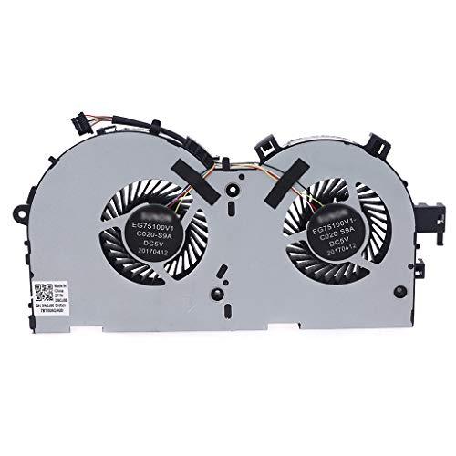 EWAT Ventilador de refrigeración, para tarjeta gráfica R720 Y520 Y520-15IKBM R720-15IKBM 1060Ti para SUNON EG75100V1-C020-S9A