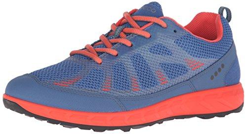ECCO TERRATRAIL, Zapatillas de Trail Running Mujer, Multicolor (Cobalt/Coral BLUSH59704), 38 EU
