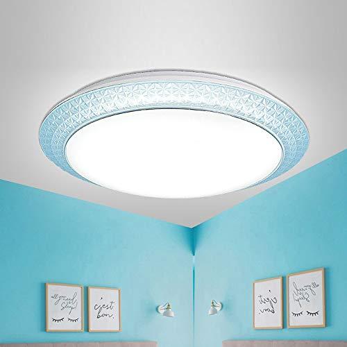 Luces de techo LED WiFi blancas + RGB IP42 Luz inteligente regulable a prueba de agua para cocina, pasillo, oficina, luces de techo empotradas