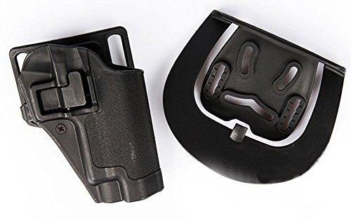 Tomtac Airsoft CQC SERPA Pistol Belt Hard Holster FOR G17 G18 G22 Black