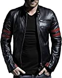 Leather Retail® Wolverine Faux Leather Jacket