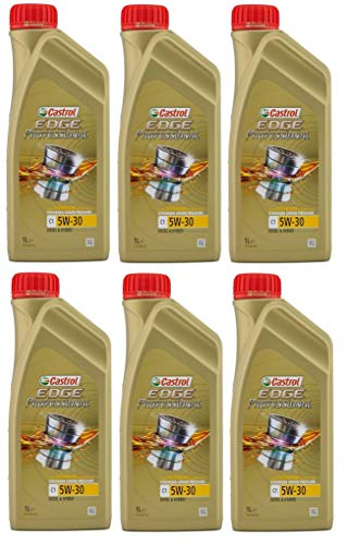 Price comparison product image Castrol Edge Professional C1 5w-30 Full Synthetic Diesel Engine Oil,  6 Litres