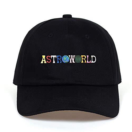 Travi$ Scott Latest Album Astroworld Dad Hat 100% Cotton Embroidery Astroworld Baseball Caps Unisex Travis Scott
