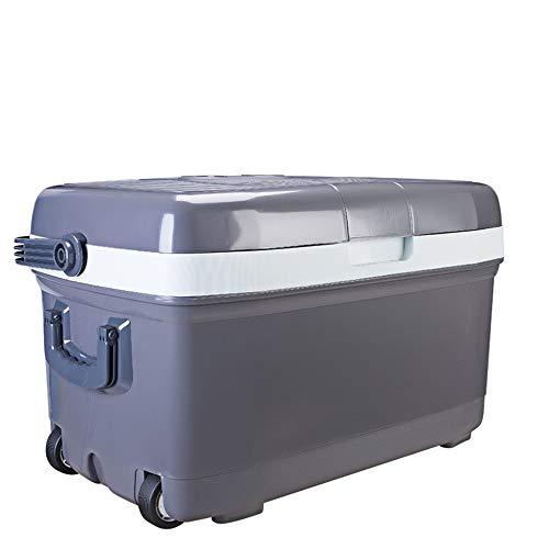 Beck Orlando Mini Nevera-congelador Enfriador eléctrico y Calentador for automóviles y Casas con Ruedas - Enchufes de CA y 12V CC for vehículos Mini Nevera (Color, tamaño : 69 * 41.5 * 42.5cm)