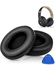 HiFan Replacement Ear Pads for Beats Studio 2.0 & 3.0 Wired/Wireless B0500 / B0501 - Extreme Comfort Ear Cushions Replacement kit Noise Isolation Adaptive Memory Foam Ear Cover, 2 Peices