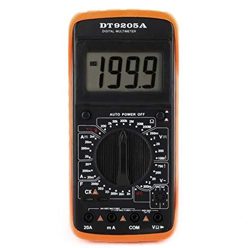 TwoCC Digital Dt-9205A Multimeter Ac/Dc Amperemeter Widerstands-Kapazitäts-Tester Hz Hfe