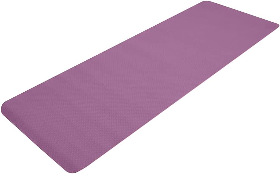 ALSK 6mm Thick TPE Non-Slip Max 49% OFF 183x61x6cm Yoga Challenge the lowest price Gym 0810 Mat