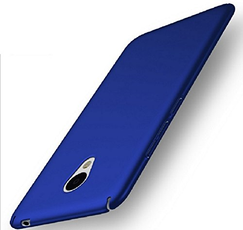 Apanphy Meizu M5 Note Hülle, Hohe Qualität Ultra Slim Harte Seidig Und Shell Volle Schutz Hinten Haut Fühlen Schutzhülle für Meizu M5 Note, Blau