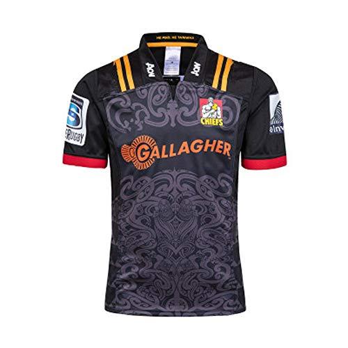 Rugby Jersey, New Zealand Chiefs Rugby Training Wear Sweatshirt Polo Shirt S-XXXL