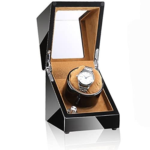 LYLSXY Watch Winder Cajas Giratorias, para Relojes Automatico Watch, De Reloj Relojes Automáticos Motor Silencioso Rotación (Color : E)