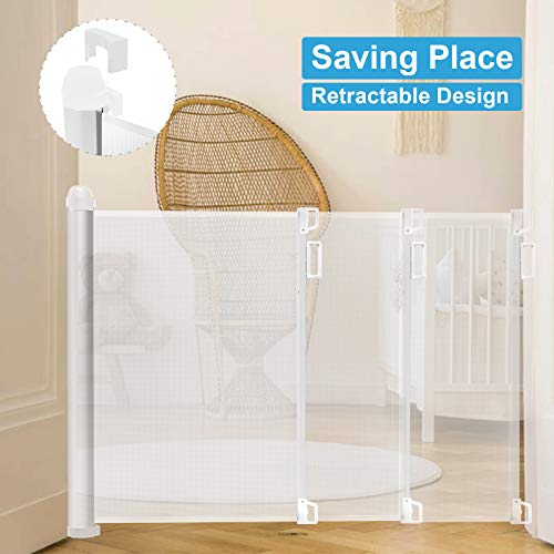Leo green ABS Retractable Baby Gate
