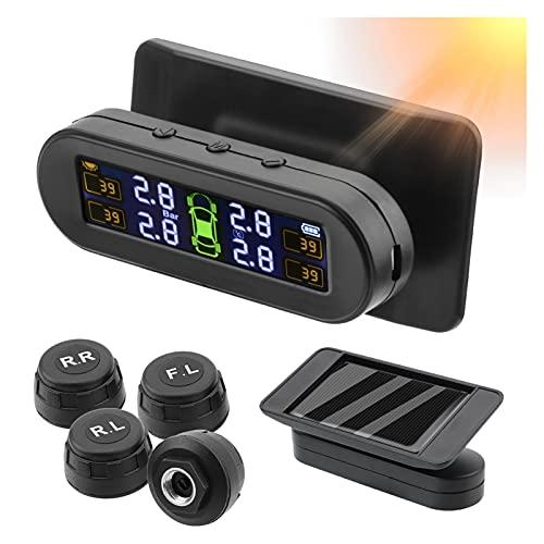 Sistema de monitoreo de presión de neumáticos Sistema de monitoreo de presión de neumáticos SOLOR TPMS Sensor de presión de neumáticos Sensor de combustible Ahorro de alarma automática Sistema de cont