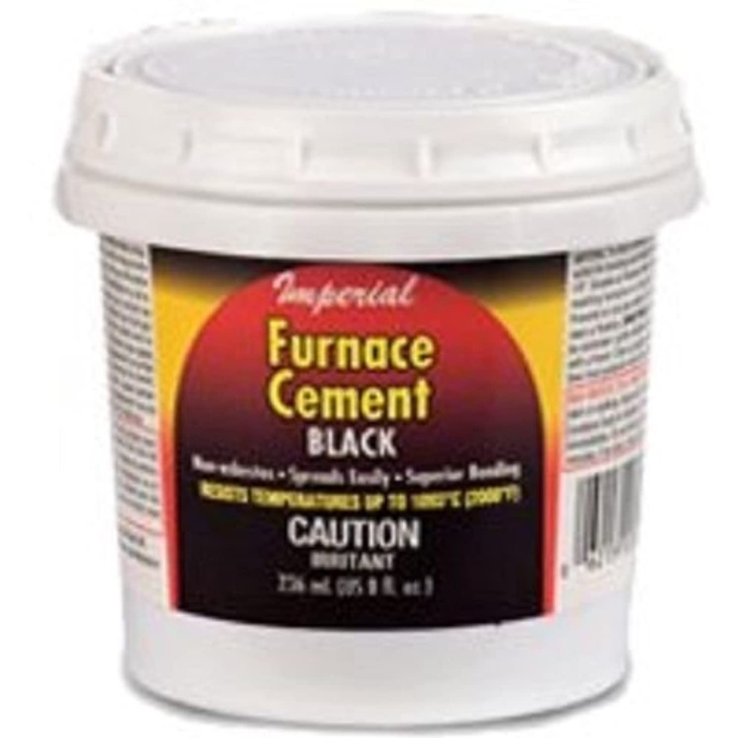 New Imperial Kk0304 32oz High Heat Stove Fireplace Black Furnace Cement 5385653