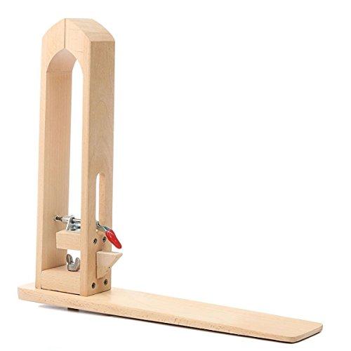 UNIQUEBELLA Leder nähen Werkzeug Holz Halteclip Behandlungen Crafts DIY N?hen Schnürsystem Nähkloben Nähpferd Basic zum festhalten des Leders beim Ledernähen