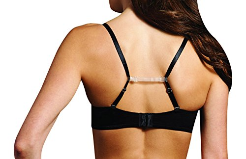 Maidenform Women's Bra Strap Holder, Clear, One Size