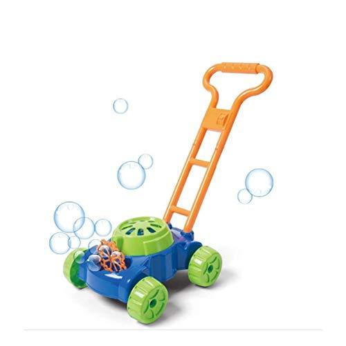 WANGSUN Blasen-Gebläse-Maschine, vollautomatisch, Musik-Hebel, Rasenmäher, Blasen-Gebläse, Spielzeug für Kinder, Outdoor-Spaß, Spielzeug
