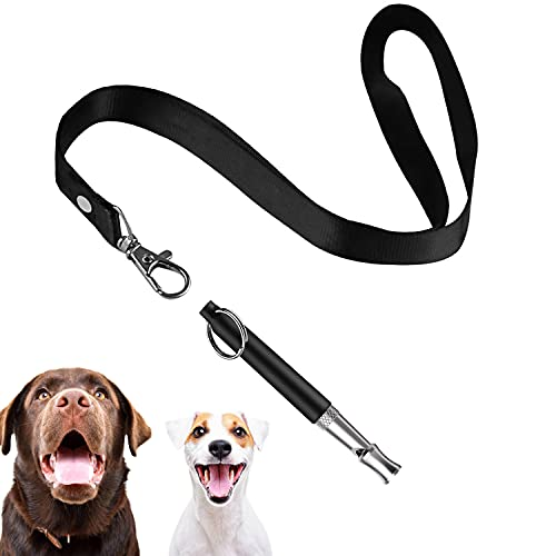 Tofoalife Professional Dog Whistles to Stop Barking, Trasonic Silent Dog Whistle Adjustable Frequencies, Effective Way of Training, Whistle Dog Whistle for Recall Training