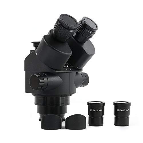 LIXUDECO Microscopio más reciente 3.5X 7X 45X 90X Sim-Focal