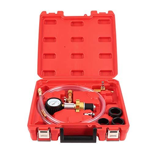Kit de sistema de refrigeración, kit de purga de recarga de refrigerante de radiador de coche Conector rápido Prueba de evacuación de fugas Sistema de refrigeración por vacío