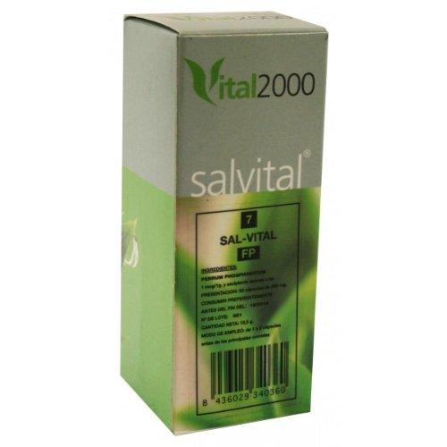 Vital 2000 Salvital 7 Ferrum - 50 Capsulas