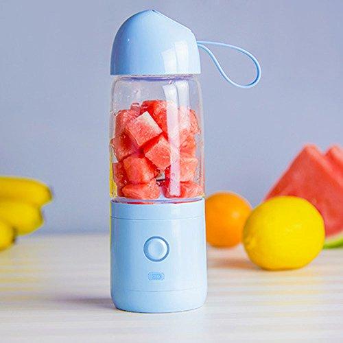 JKYQ Boy Style USB Tragbare Entsafter Küche Reise Krankenhaus Pressed Frucht Maschine Wiederaufladbare Saft Tasse Älteren Kind und Schwangere Frau Saft Tasse
