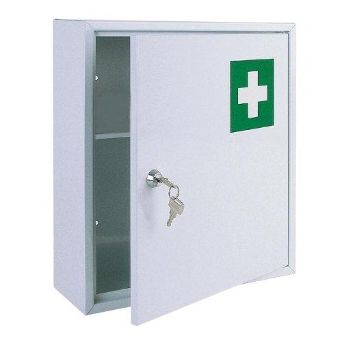 BURI Metall Arzneischrank Medizinschrank Arzneimittelschrank Medikamentenschrank Neu