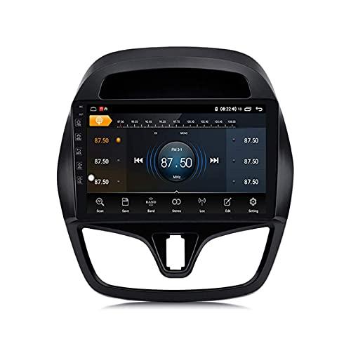 Unidad principal de navegación GPS para automóvil Adecuado para Chevrolet Spark Beat 2015-2018 Estéreo para automóvil Navegación por satélite Tacto capacitivo HD Carplay Rastreador de sistema de radi