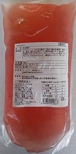 カロリーゼロ アセロラゼリー 1kg 業務用 冷凍