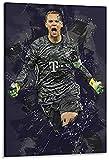 Amacigana Manuel Neuer Poster, dekoratives Gemälde,