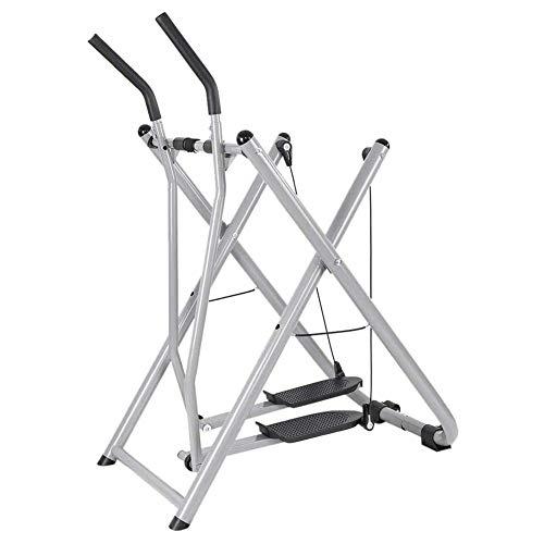 GzxLaY Ellipsentrainer für den Heimgebrauch, Fitnessgeräte Heimgymnastik Fahrradtraining Air Walker, Cardio Dual Trainer aufrecht