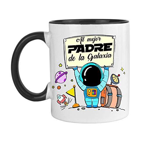 FUNNY CUP Taza Día del Padre. Al Mejor Padre de la Galaxia....
