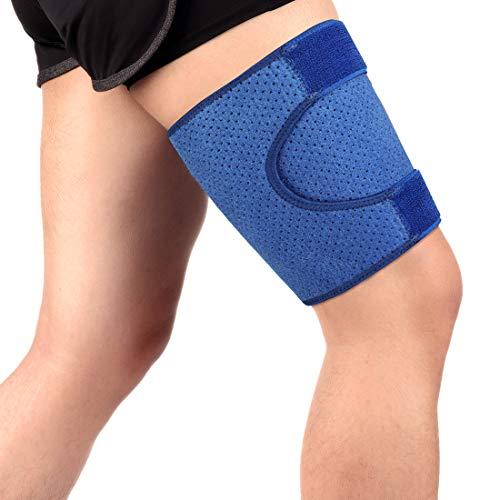 Sujeción de los muslos, Muslera y soporte de compresión para muslo manga para muslo, alivio del dolorpara muslo tensiones, hinchazón, músculos rasgados, lesiones deportivas