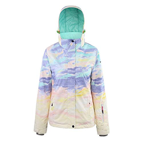 KIBILLL vrouwelijke skateboard ski pak jas waterdicht winddicht warm lucht kleren dubbele plaat snowboard